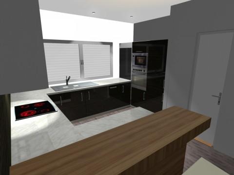 Kuchyňa 3D 3